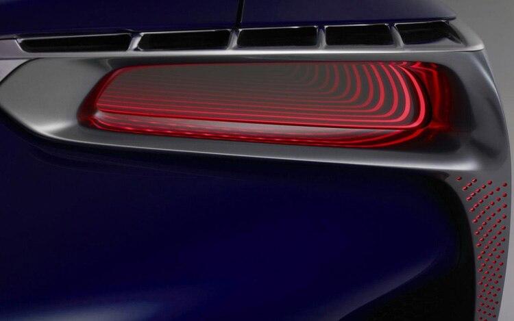 Lexus Australia Concept Car Taillight Teaser1