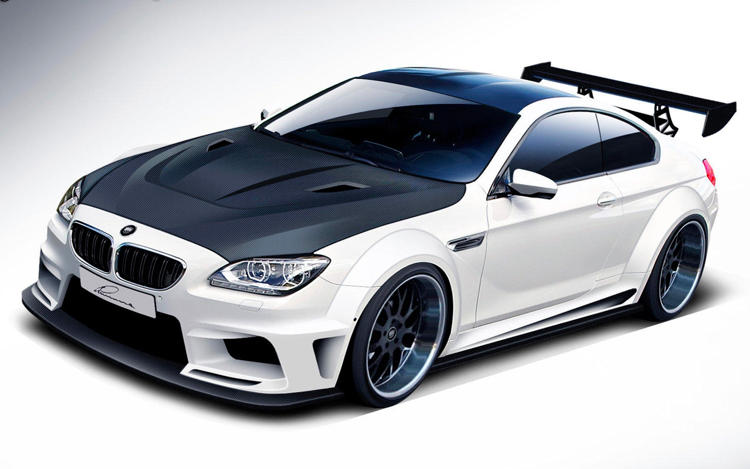 Lumma Design BMW M6 CLR 9 Front Three Quarters View1