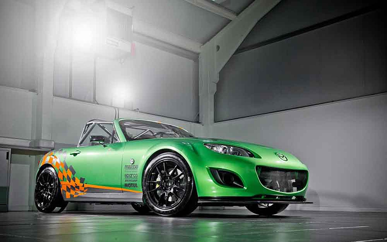 Mazda MX 5 GT4 Front Three Quarter1