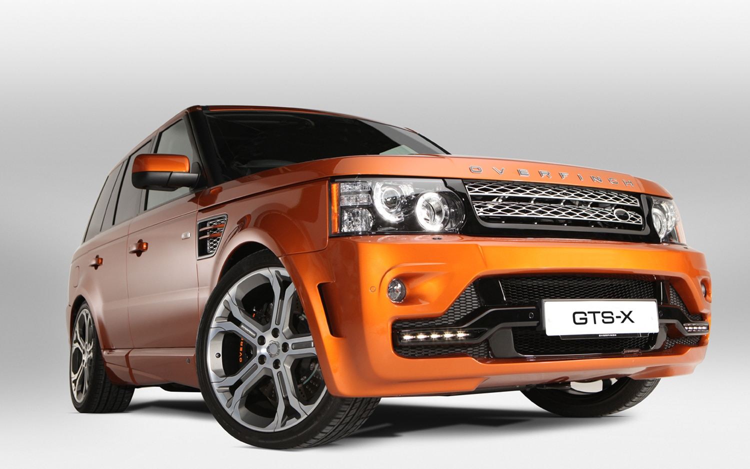 Overfinch Range Rover Sport GTS X Front Three Quarter1