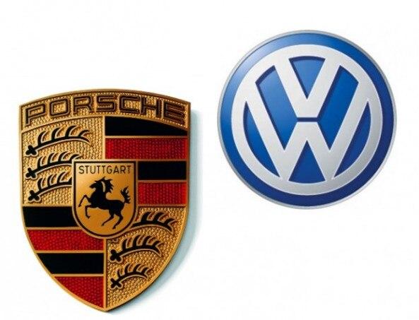 Porsche VW Logos 593x453
