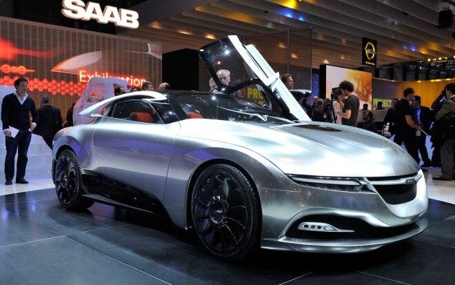 Saab Phoenix Concept Front View1 660x413