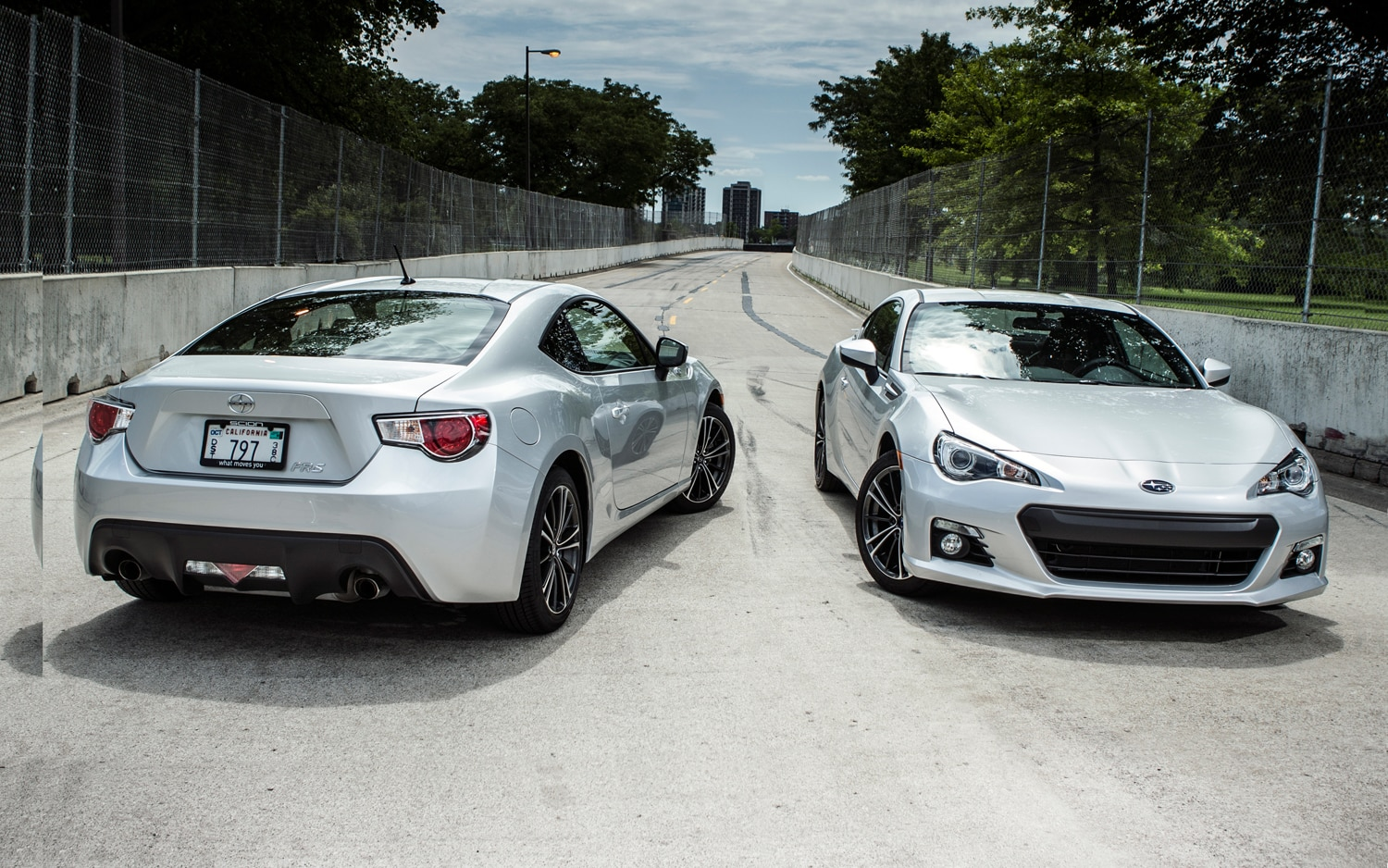 Scion FR S And Subaru BRZ