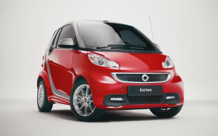Smart ForTwo Facelift Commercial