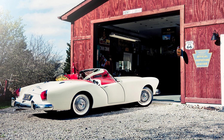1954 Kaiser Darrin Rear Right Side View1