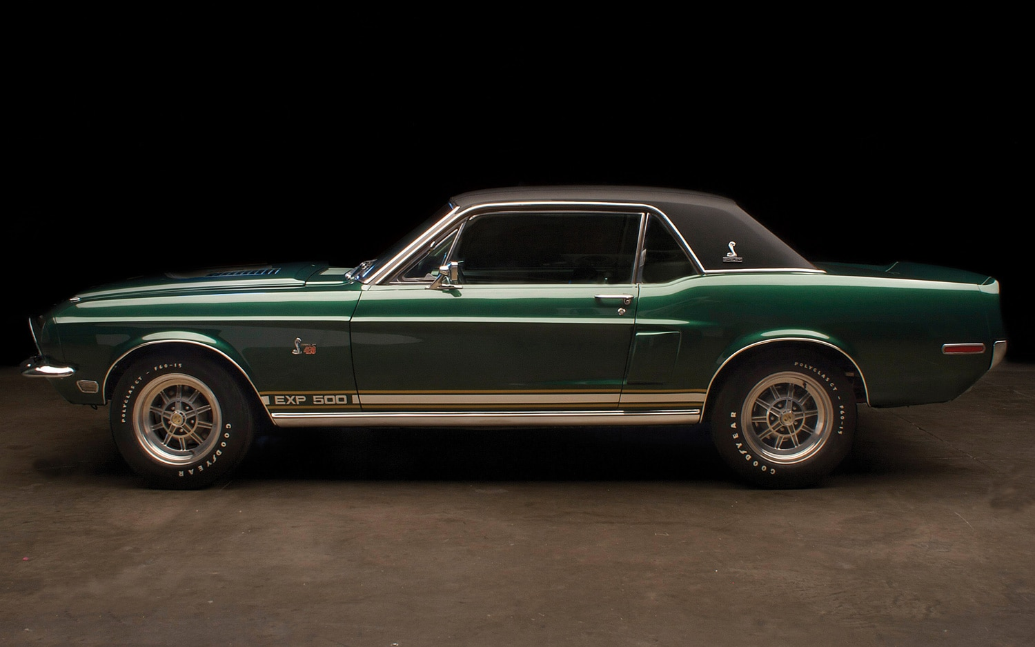 1968 Shelby Mustang EXP 500 Prototype Side View1