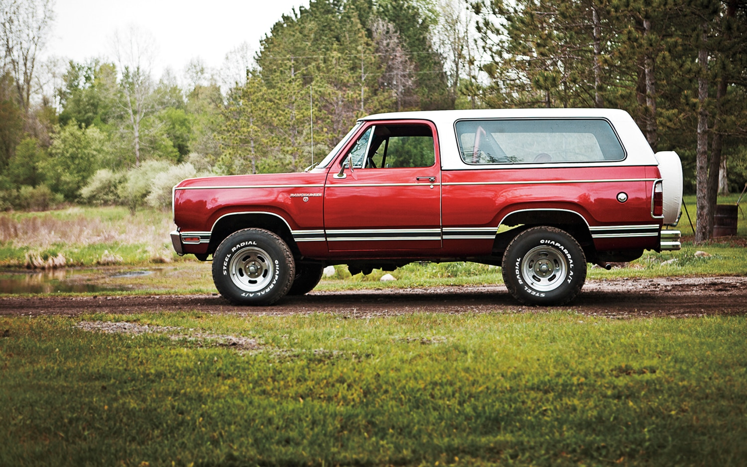 1974 1980 Dodge Ramcharger Left Side View1