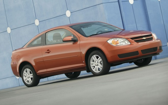 2008 Chevrolet Cobalt Coupe Front Angle1 660x413