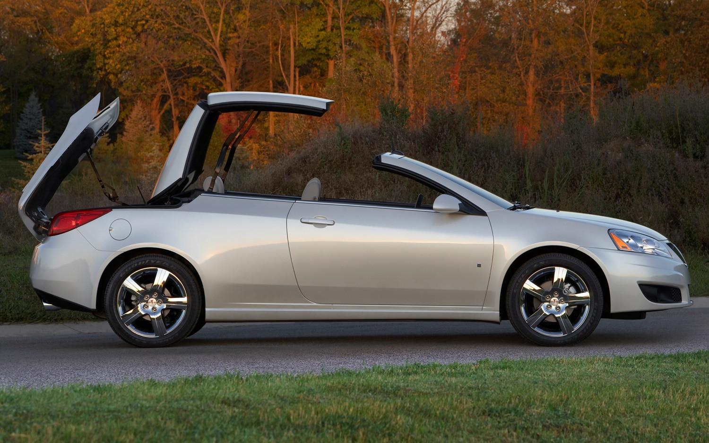 2009 Pontiac G6 Convertible Profile1