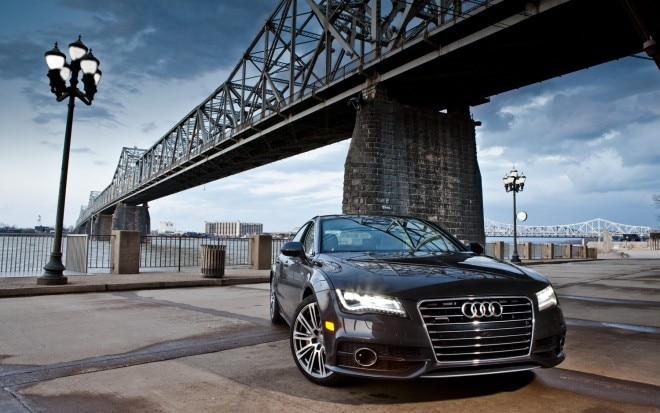 2012 Audi A7 Front View1 660x413