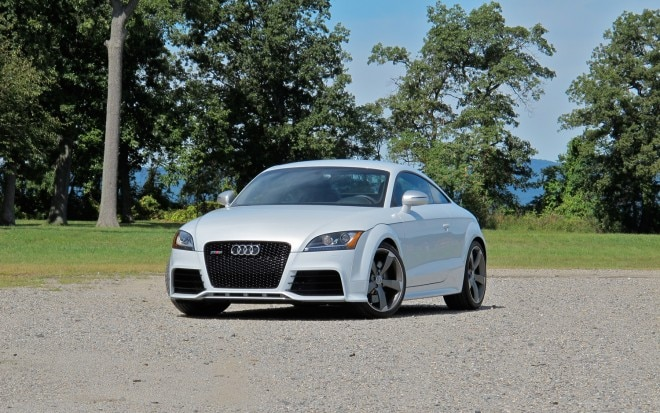 2012 Audi TT RS Front Left View 21 660x413