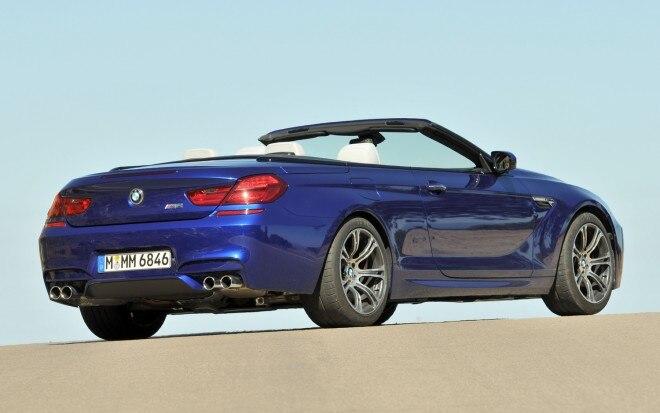 2012 BMW M6 Convertible Rear Three Quarter1 660x413