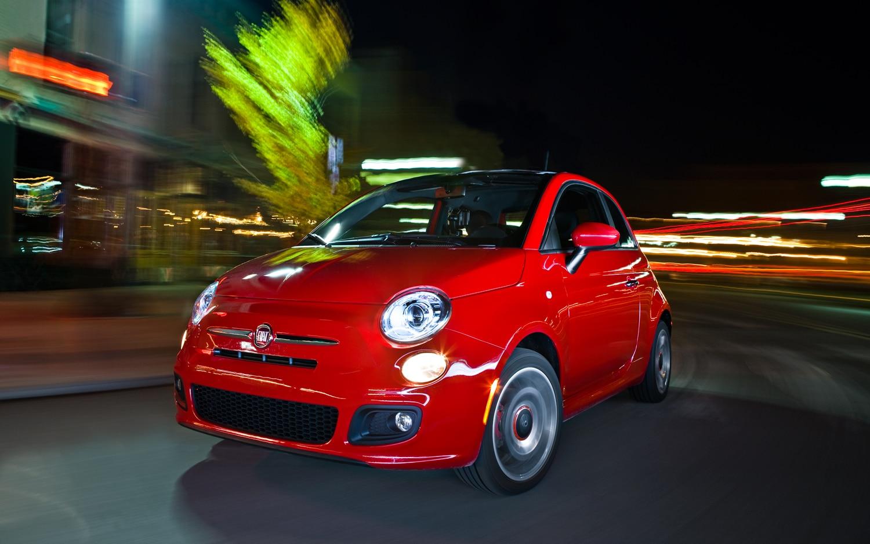 2012 Fiat 500 Sport Front Left View1