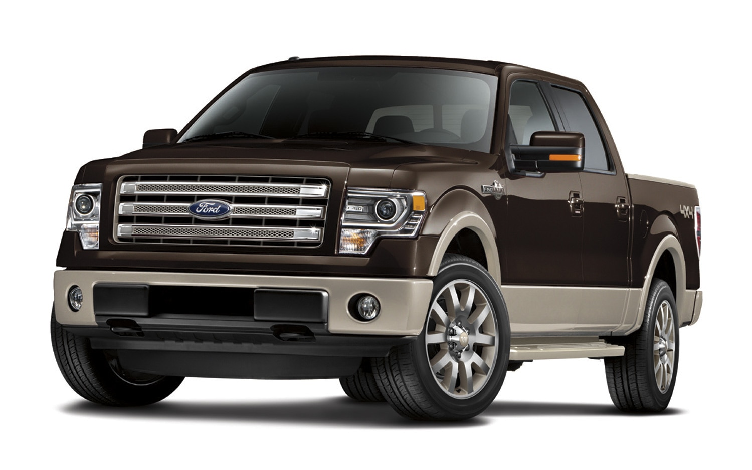 2012 Ford F 150 King Ranch Front Three Quarters View1
