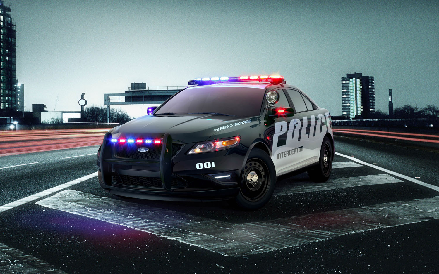 2012 Ford Police Interceptor Front Three Quarter1