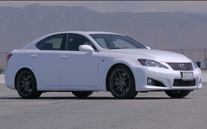 2012 Lexus IS F Front Three Quarter1 660x413