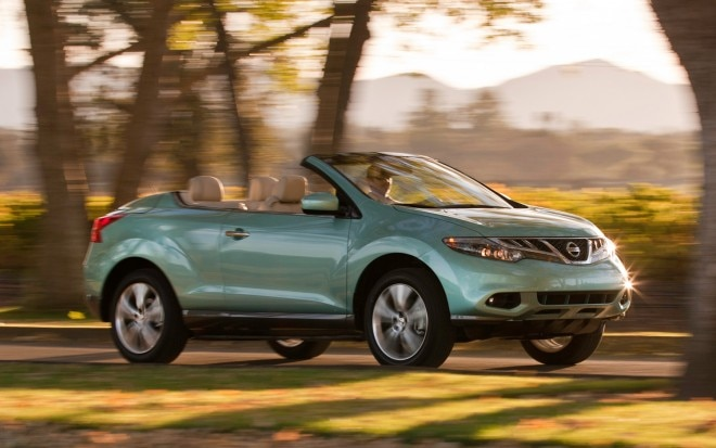 2012 Nissan Murano CrossCabriolet Front Three Quarter1 660x413