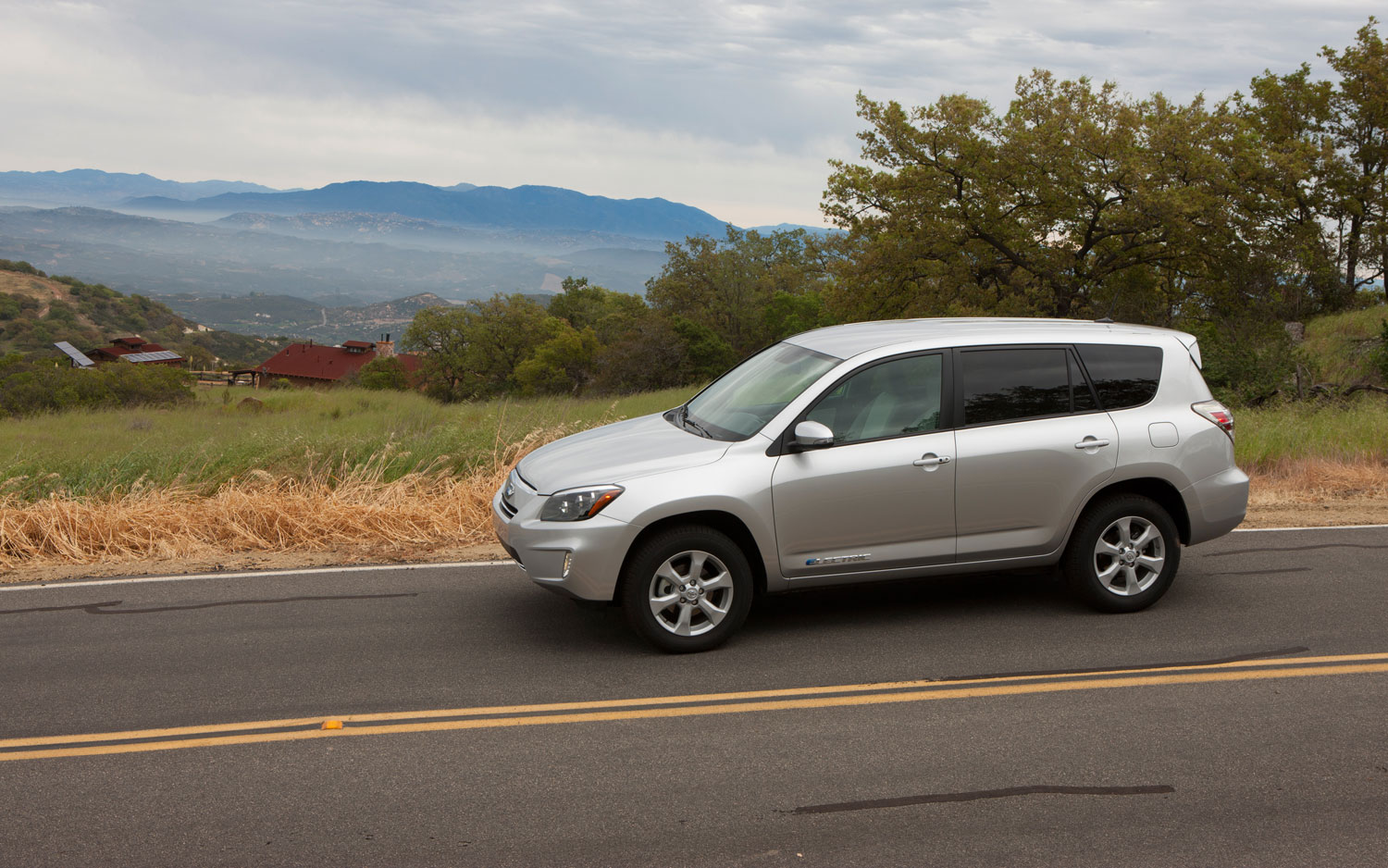 2012 Toyota RAV4 EV Left Side View1