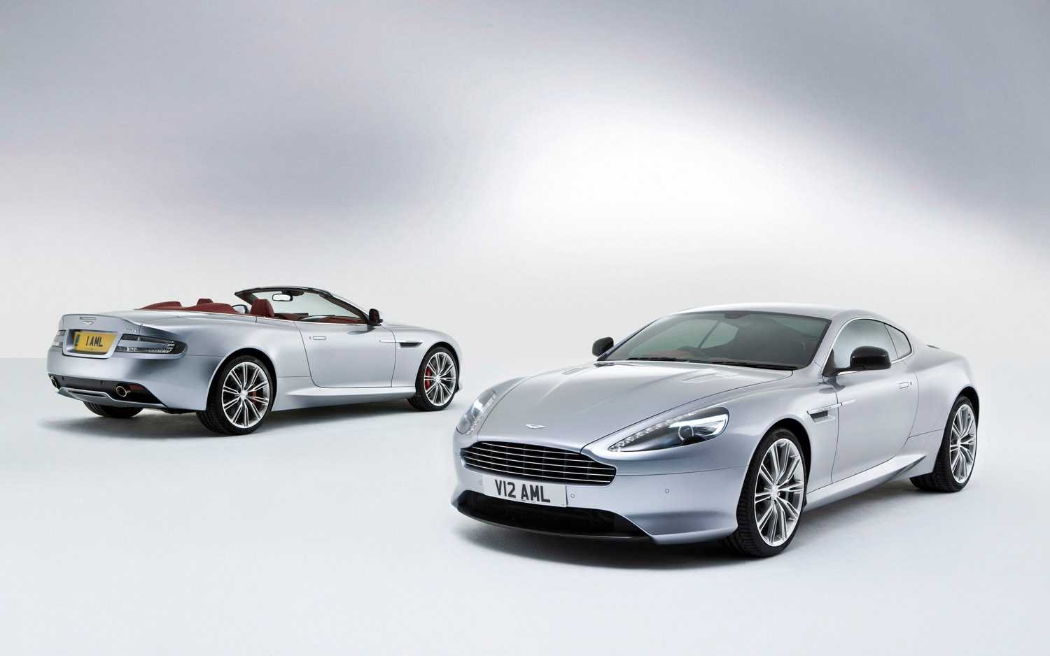 2013 Aston Martin DB9 Coupe And Volante 2 Up1