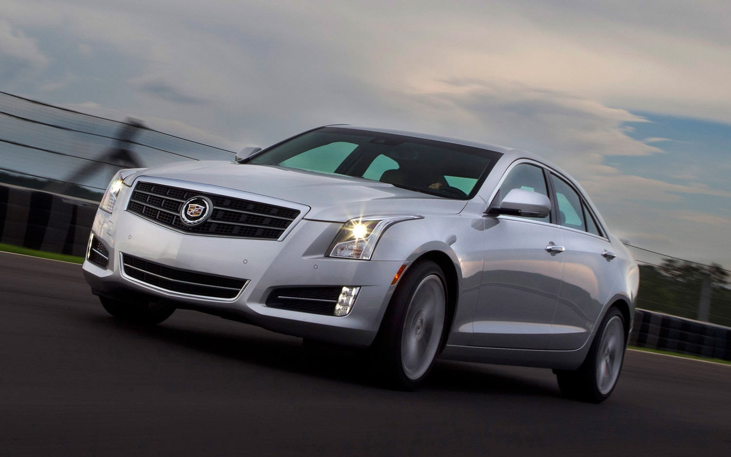 2013 Cadillac ATS Front Three Quarter1