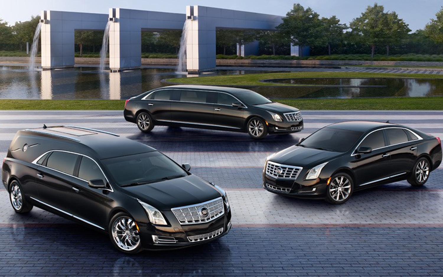 2013 Cadillac XTS Livery Sedan Limousine Funeral Coach