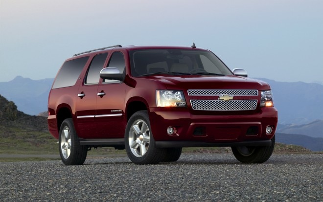 2013 Chevrolet Suburban LTZ Right Front 11 660x413