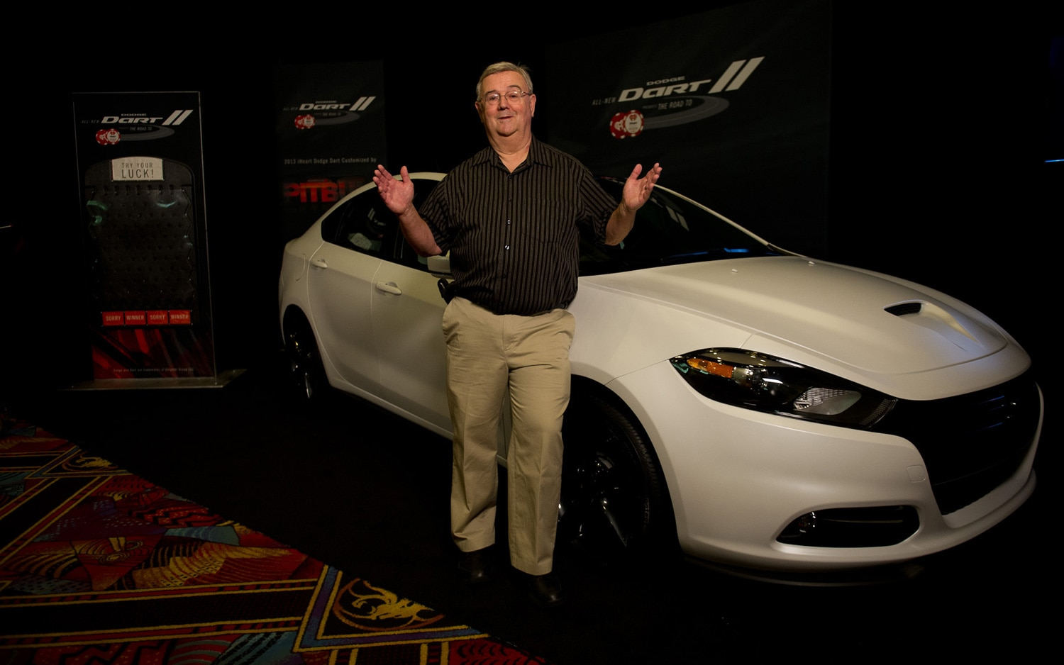 2013 Dodge Dart Customized By Pitbull Front Right With Winner Jack Walters 141