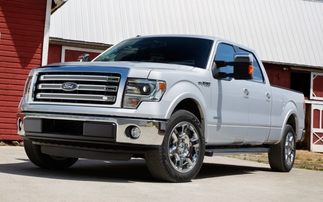2013 Ford F 150 Lariat Front View1 660x413
