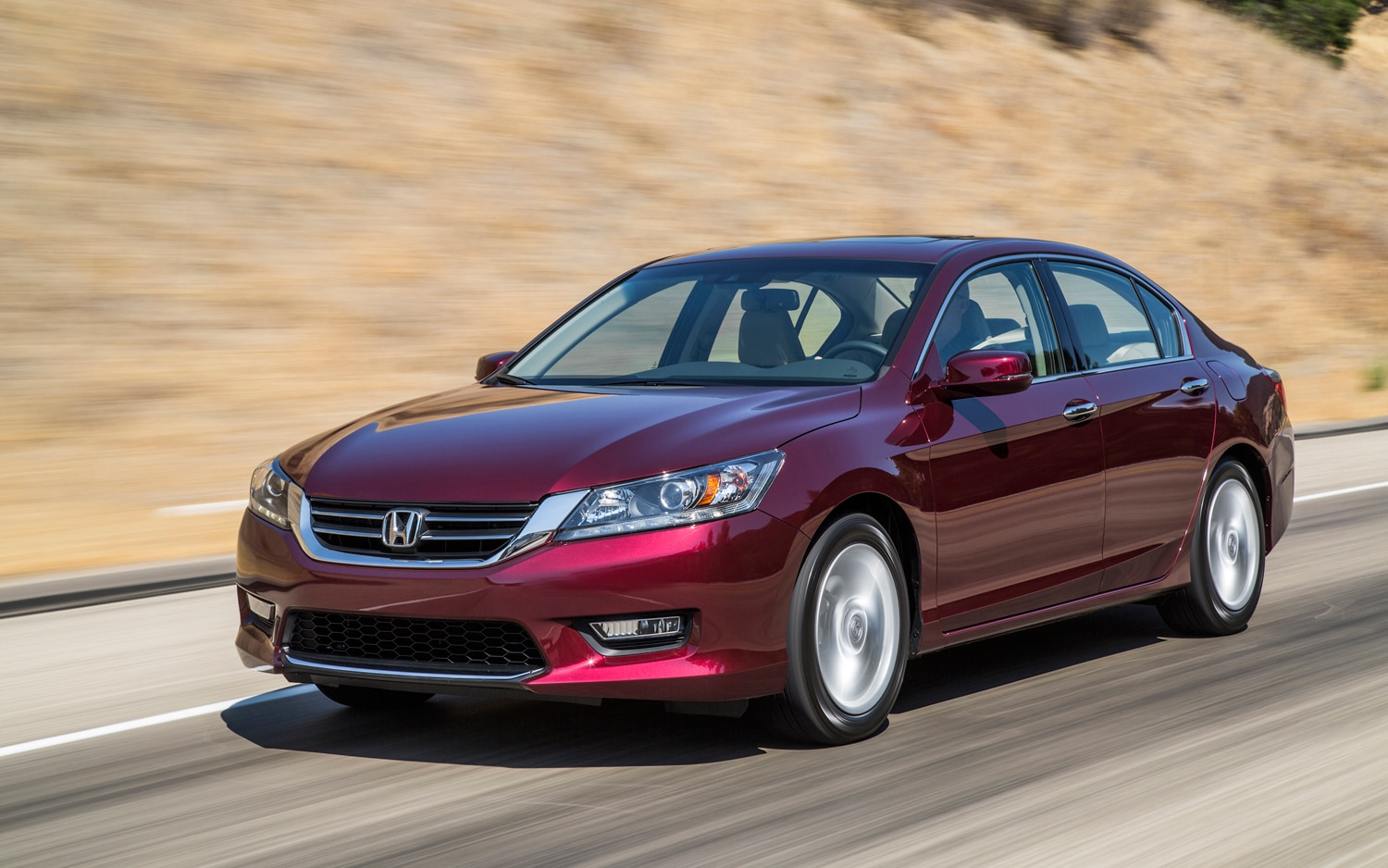 First drive 2013 honda accord automobile magazine for Honda accord exl 2013