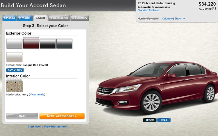 2013 Honda Accord Sedan Configurator1