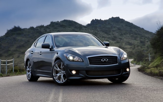 2013 Infiniti M56s Front Three Quarter1 660x413