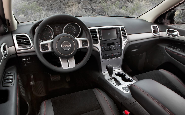 Jeep 2008 jeep grand cherokee interior : Jeep Reveals Production Grand Cherokee Trailhawk, Wrangler Moab ...