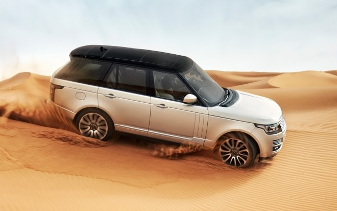 2013 Land Rover Range Rover Front Three Quarter Motion11 660x413