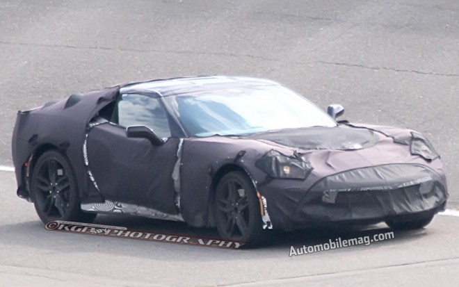 2014 Chevrolet Corvette C7 Prototype Front Three Quarters View 2111 660x413