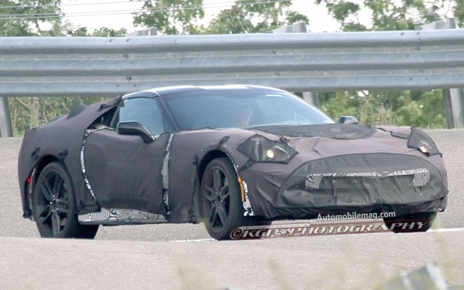 2014 Chevrolet Corvette C7 Prototype Front Three Quarters View 311 660x413