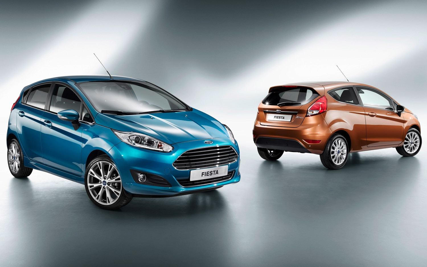2014 Ford Fiesta Euro Spec Two And Four Door Hatchbacks2