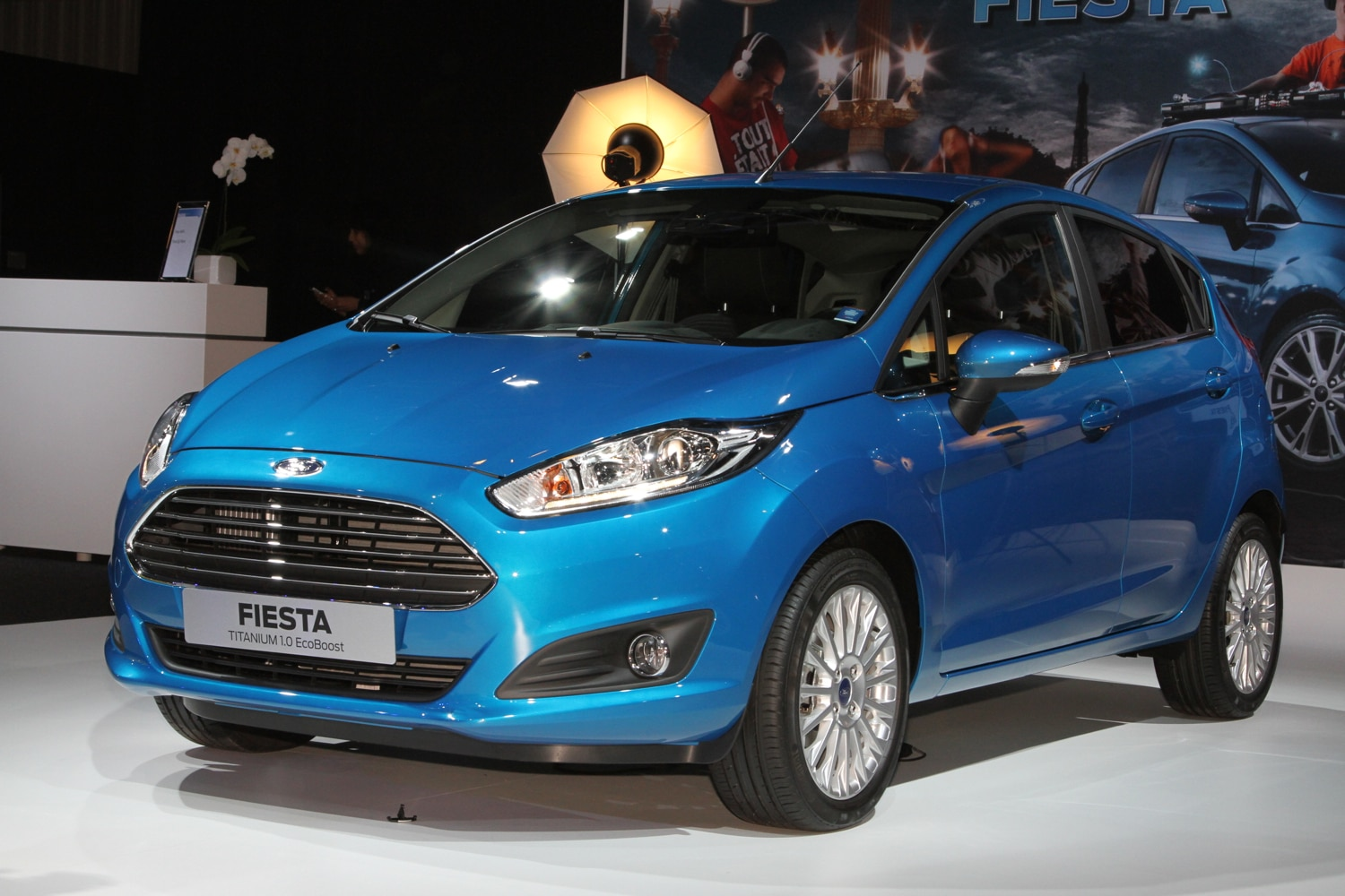 paris 2012 ford fiesta shows off its fusion like nose ecoboost engines. Black Bedroom Furniture Sets. Home Design Ideas