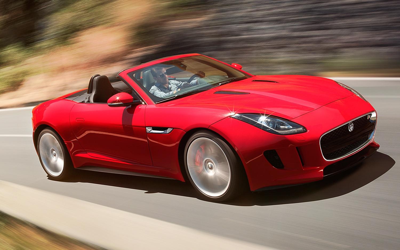 2014 Jaguar F Type Front View