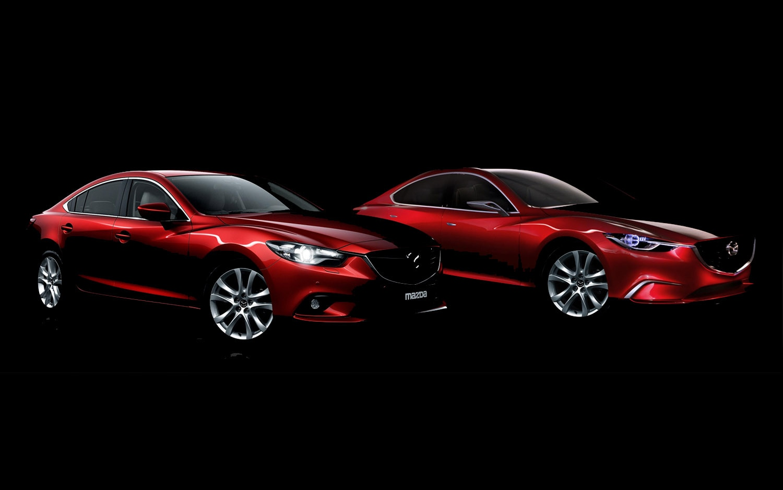 2014 Mazda 6 And Takeri Concept Front Three Quarter1