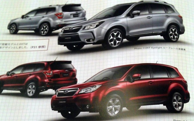 2014 Subaru Forester Leaked Photos 11 660x413