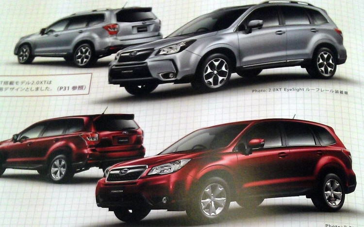 2014 Subaru Forester Leaked Photos 11
