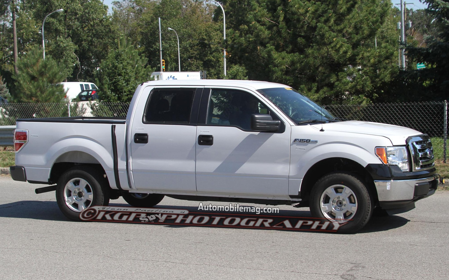 2015 Ford F 150 Mule Side View In White 21