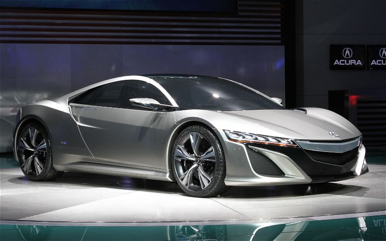 Acura NSX Concept Front Three Quarter View1
