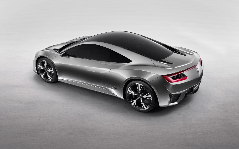 Acura NSX Concept Rear Three Quarter View1