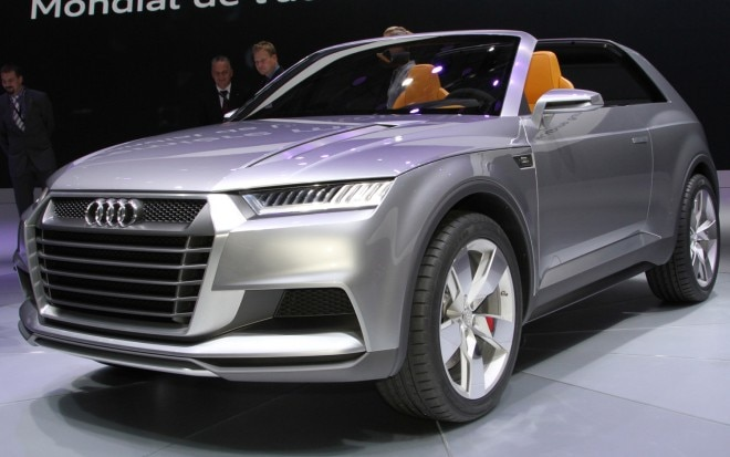 Audi Crosslane Coupe Concept Live Front Three Quarter1 660x413