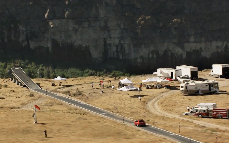 Audi Stunt Ramp Snake River1