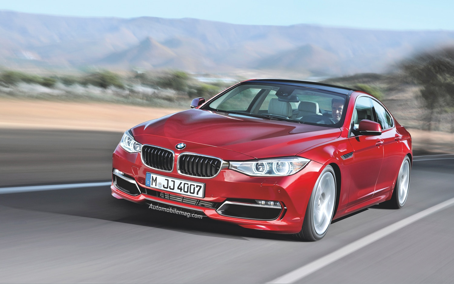 BMW 4 Series Gran Coupe Front End In Motion1