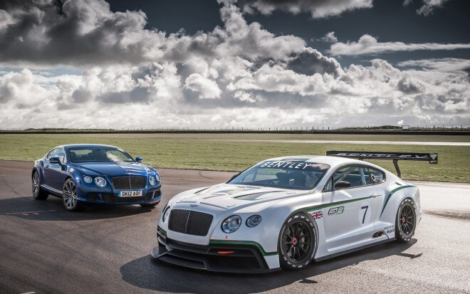 Bentley Continental GT3 With Continental GT Speed1 660x413