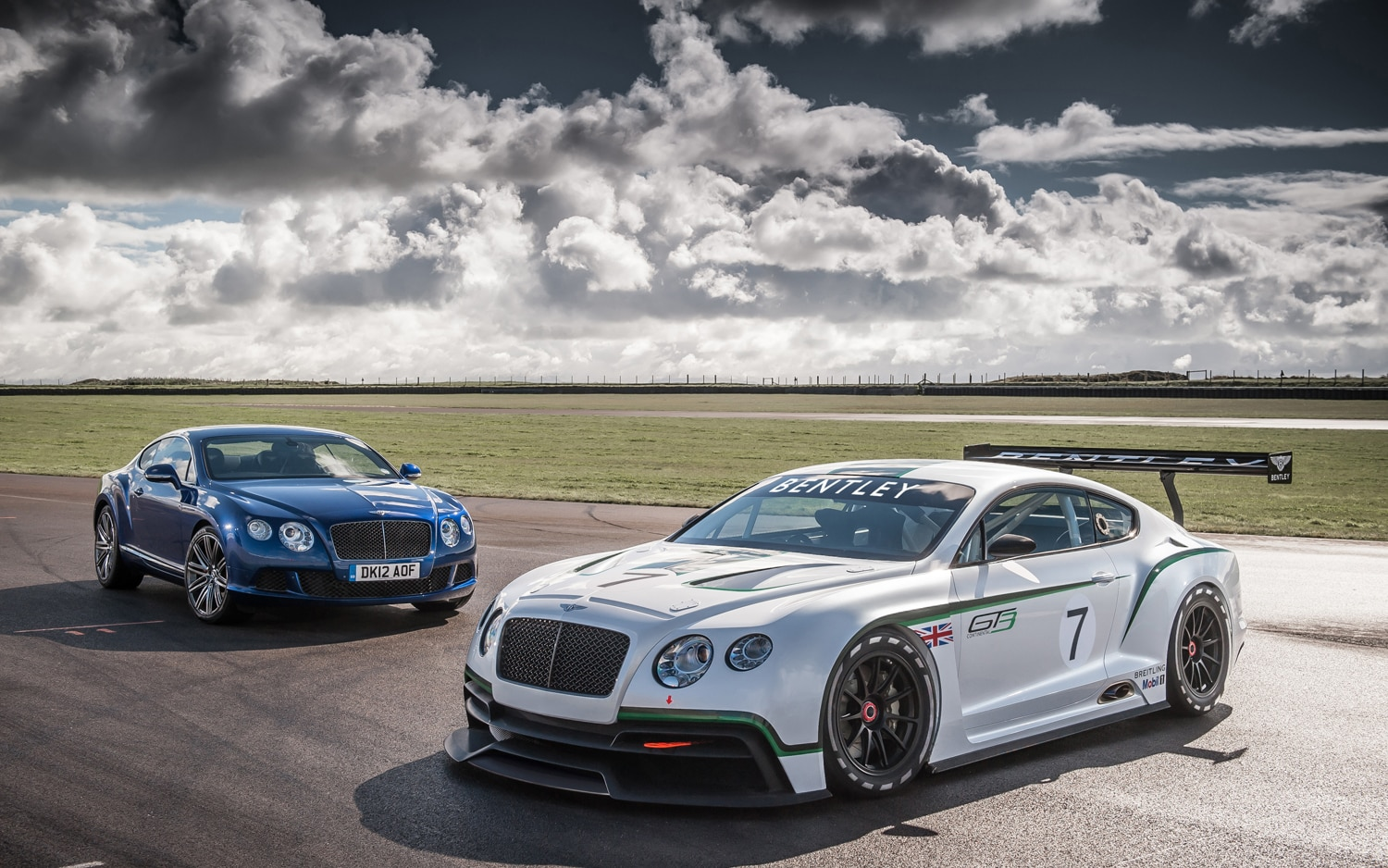 Bentley Continental GT3 With Continental GT Speed1