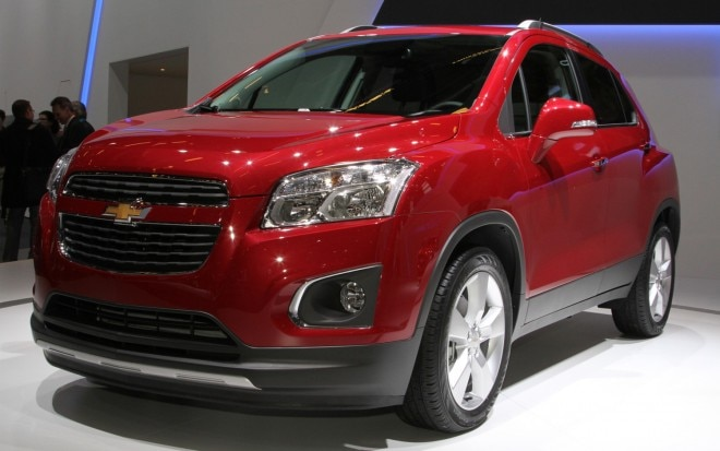 Chevrolet Trax Front Three Quarter1 660x413